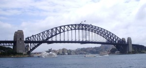 Vista del Sydney Harbour Bridge desde la Opera House