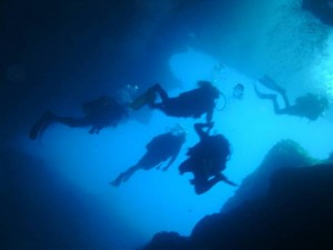 Diving en Malta, el Blue Hole, Gozo