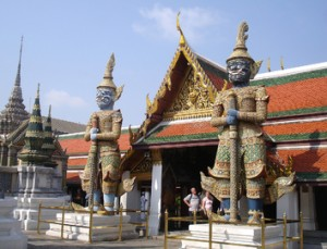 El Palacio Real de Bangkok es visita imprescindible