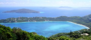 La espectacular playa de Magen´s Bay, en St Thomas