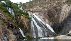 La Cascada de Ezaro tiene más de 40 metros de altura