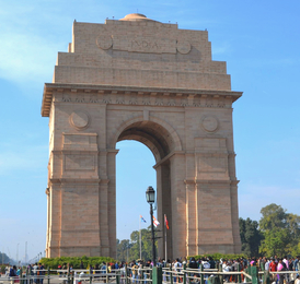 La India Gate de New Delhi.