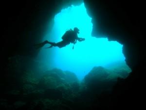 Las Cuevas de Palma son destino de buceo.