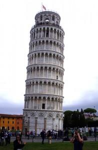 Torre de Pisa, visitada con la escala de Livorno
