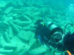 Diving en el Montana y Constellation Shipwrecks