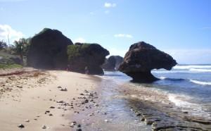 Bathseba, formaciones rocosas de Barbados