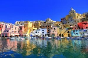 La Costa Amalfi y el colorido de sus casas.