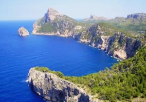 Las vistas de Cabo Formentor son impresionantes