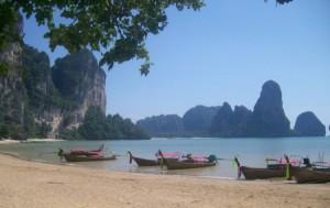 Rai Leh, un paraíso desconocido en la zona de Krabi