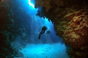 Diving en el Blue Hole de Dahab