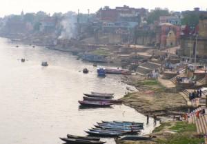 Burning Place de Benarés, o Varanassi