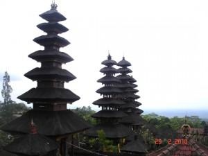 El impresionante Templo de Pura Besakih