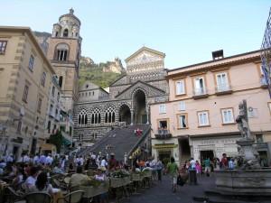 Catedral de Amalfi, capital de la Costa Amalfitana