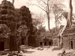 El famoso templo de la película Tomb Rider, Ta Prohm, Camboya