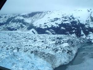 Sobrevolando el Glaciar Mendenhall