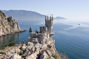 El nido de glondrina de Yalta.