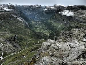 Vista desde el Monte Dalsniba.