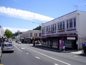 El curioso pueblo Art Decó de Napier.