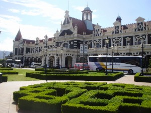 Estación de tren de Dunedin, el edificio más fotografiado de New Zealand.