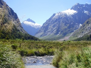 Atravesando el Parque Nacional de los Fiordos en autobús.