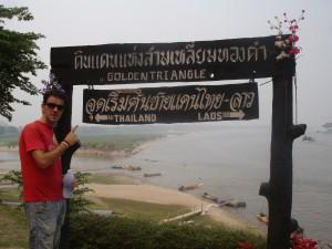 Frontera del Triángulo de Oro con Laos.
