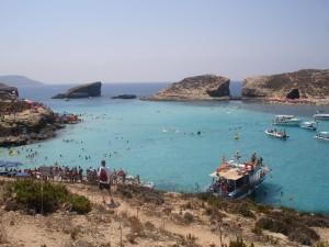 La Blue Lagoon, en la minúscula isla de Comino.