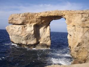 La Azur Window es el principal atractivo de Gozo.
