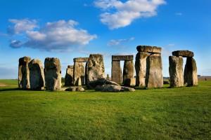 Las gigantescas piedras fueron traidas de Gales.