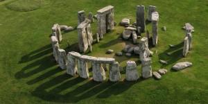 Vista de Stonehenge.