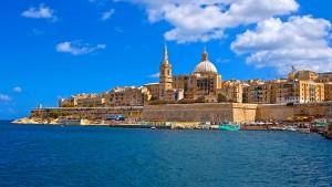 Vistas de La Valletta, la capital de Malta.