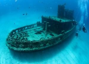 Numerosos naufragios pueden ser buceados.