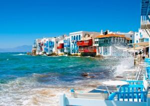 Mikonos es de las islas griegas más visitadas.