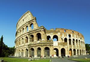 El Coliseum de Roma es un icono de Italia.