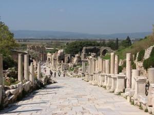 Ruinas de la maravilla arqueológica de Éfeso.