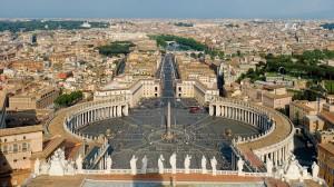 El Vaticano, el país más pequeño del mundo.