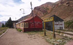 La antigua estación de tren es hoy un hostal.