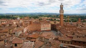 Siena es uno de los secretos de la Toscana.