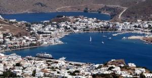 Isla de Patmos, escala de nuestro crucero.