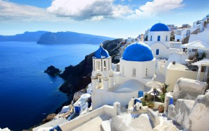 Santorini es, sencillamente, espectacular.