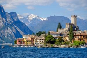 Parada en Malcesine, Lago di Garda.