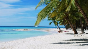 Impresionantes playas en Punta Cana.