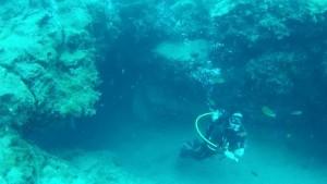 Inmersión en El Agujero Azul.