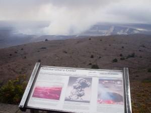 Volcan Kilauea, el más activo de Hawaii.