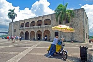 El Alcázar de Colón en Santo Domingo.