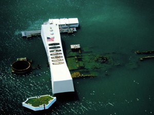 Memorial Pearl Harbor en Honolulu.