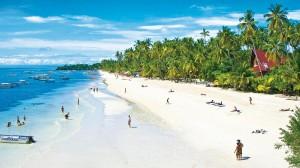 Si nos cansamos del buceo, las playas de Philipinas son espectaculares.