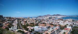 Panorama de Las Palmas de Gran Canaria.