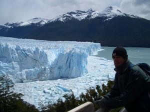 El impresionante glaciar Perito Moreno.