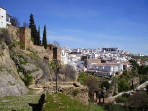 Ronda, uno de los pueblos blancos de Andalucía.