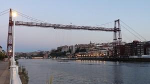 El característico puente de Getxo.